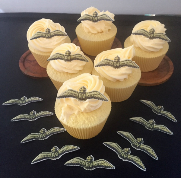 RAF Cake Topper - RAF Wings